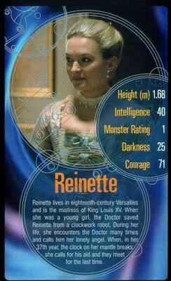 Top Trumps Specials Doctor Who - Reinette - (Art.Nr.43)