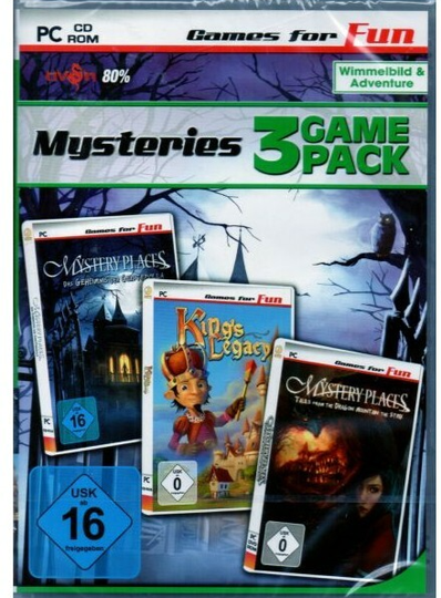 Mysteries - 3 Game Pack - PC - (Art.Nr.3)