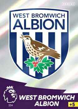 334 - Club Badge - West Bromwich Albion   - AXPL 20/21