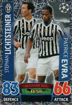 468 - Stephan Lichtsteiner & Patrice Evra - Defensive Duo - Champions League 2015/16