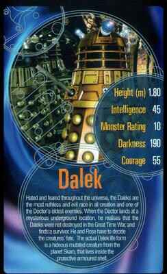 Top Trumps Specials Doctor Who - Dalek  - (Art.Nr.52)