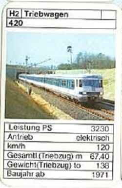 ASS - Loks - DB Triebwagen 420 - (Art.Nr.32)