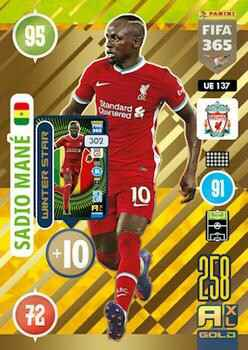 UE137.  Sadio Mané (Liverpool) - FIFA 365 * 2021 * Winter Stars