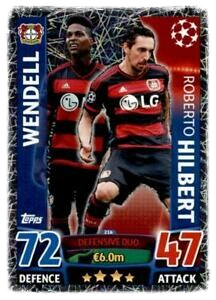 216 - Wendell & Roberto Hilbert - Defensive Duo - Champions League 2015/16