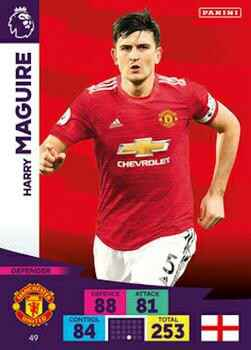 49 - Harry Maguire - Manchester United - Base card - AXPL 20/21