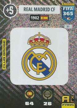 31.  Club Badge (Real Madrid CF) - FIFA 365 * 2021 *