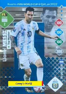 2 - Lionel Messi (Argentina) - Top Master  - ROAD TO FIFA WORLD CUP QATAR 2022