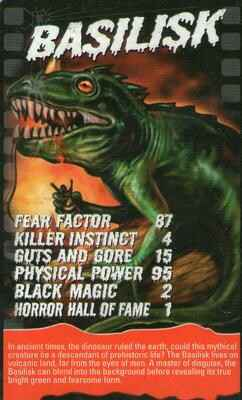 Top Trumps Specials Horror - Basilisk - (Art.Nr.36)