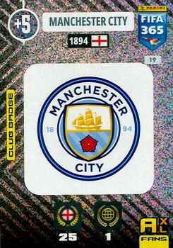 19.  Club Badge (Manchester City) - FIFA 365 * 2021 *