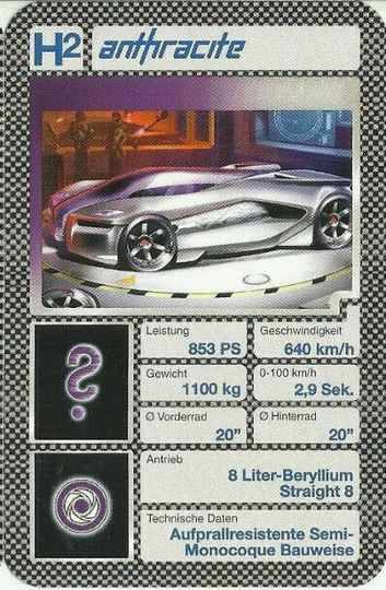 Hot Wheels AcceleRacers - Anthracite - (Art.Nr.5)
