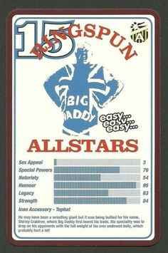 Top Trumps Ringspun allstars - Big Daddy - (Art.Nr.30)