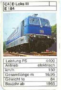 ASS - Loks - DB E 184 - (Art.Nr.38)