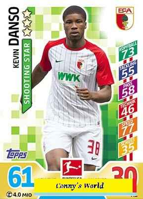 MA-17/18 -  A1 - Kevin Danso - Shooting Star