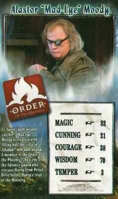 "Top Trumps Specials Harry Potter - Alastor ""Mad-Eye"" Moody - (Art.Nr.43)"