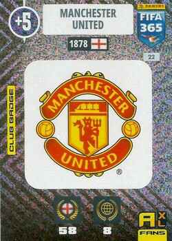 22.  Club Badge (Manchester United) - FIFA 365 * 2021 *
