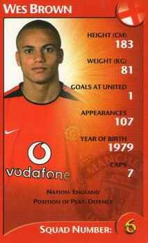 Top Trumps Specials Manchester United - Wes Brown - (Art.Nr.60)