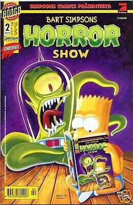 BART SIMPSONS HORROR SHOW # 2 (deutsch) in TOP !
