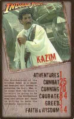 Top Trumps Specials Indiana Jones  - Kazim - (Art.Nr.40)