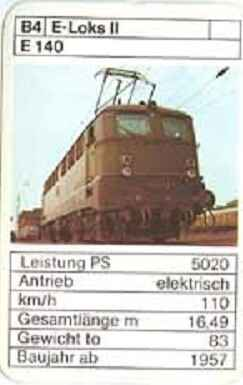 ASS - Loks - DB E 140 - (Art.Nr.42)