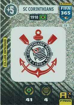 13.  Club Badge (SC Corinthians) - FIFA 365 * 2021 *