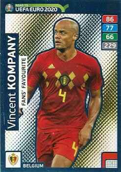 235 - Vincent Kompany - Fans Favourite - Road to Euro Cup 2020