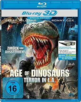 Age of Dinosaurs - Terror in L.A. [3D Blu-ray]