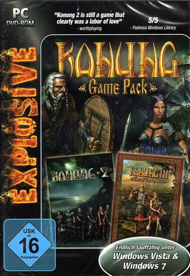Explosive: Konung Game Pack (PC-DVD) - Konung 2 & Konung 3