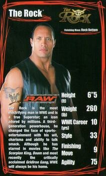 Top Trumps Specials WWE Superstars 2 - The Rock - (Art.Nr.3)