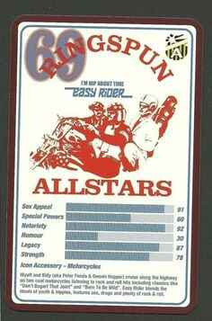 Top Trumps Ringspun allstars - Easy Rider - (Art.Nr.26)