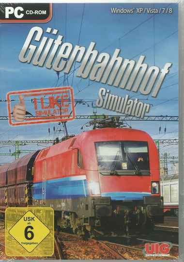 I like Simulator - Güterbahnhof Simulator (PC, 2014, DVD-Box)