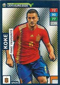 245 - Koke  - Fans Favourite - Road to Euro Cup 2020