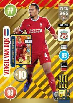 UE138.  Virgil van Dijk (Liverpool) - FIFA 365 * 2021 * Winter Stars
