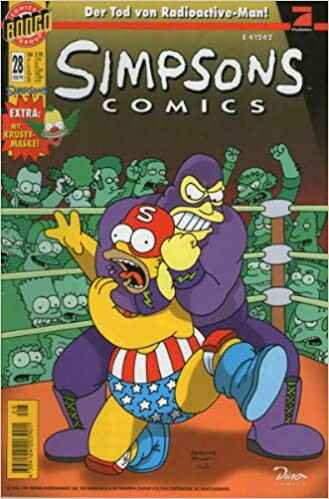 SIMPSONS Comics # 28 - Der Tod von Radioactive-Man!