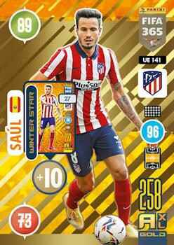 UE141.  Saúl (Club Atlético de Madrid) - FIFA 365 * 2021 * Winter Stars