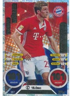 MA-17/18 - 387 - Thomas Müller- 2016/2017 - 10. Kollektion Club Einhundert