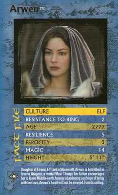 Top Trumps Specials The Lord Of The Rings - Arwen - (Art.Nr.39)