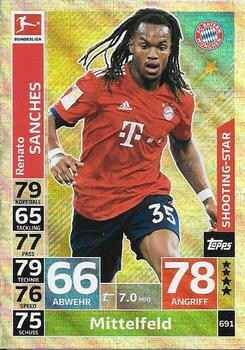 MA-18/19 - EXTRA 691 - Renato Sanches - Shooting-Stars