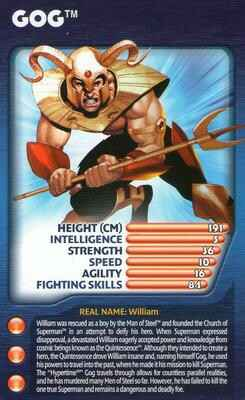 Top Trumps Specials DC Super Heroes 2  - Gog - (Art.Nr.42)