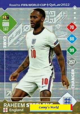 167 - Raheem Sterling – Game Changer  - ROAD TO FIFA WORLD CUP QATAR 2022