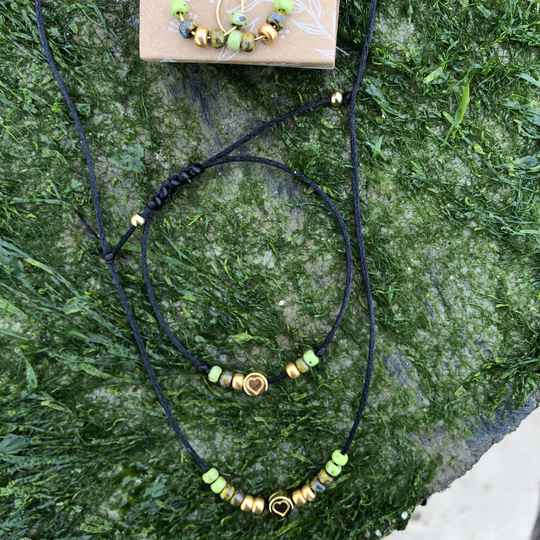Ketting PICASSO groen