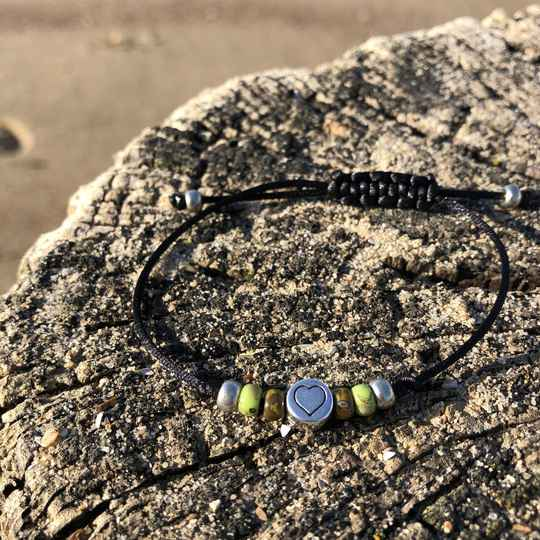 Armband PICASSO groen