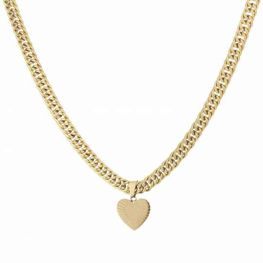 Ketting Chain of love - goud