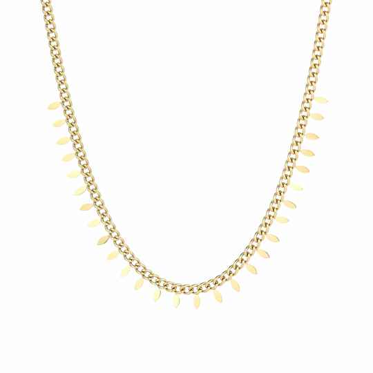 Ketting Feather - goud