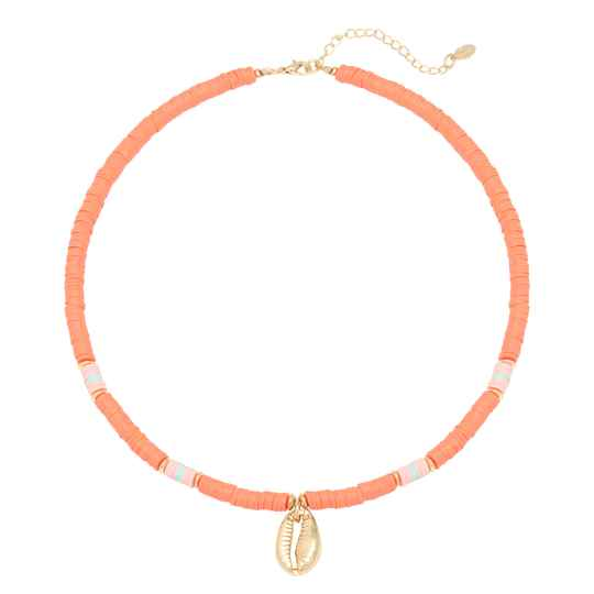 Ketting Ocean breeze - oranje/goud