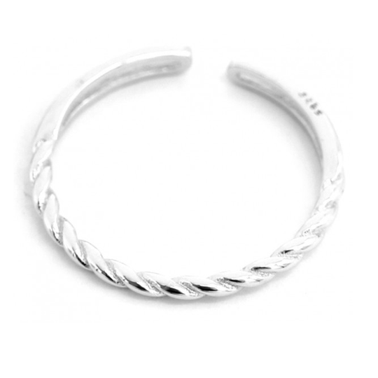 Ring Twisted - 925 sterling zilver