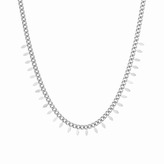 Ketting Feather - zilver