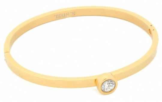 Bangle big diamond - goud