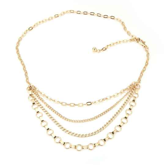 Heupketting Chains - goud