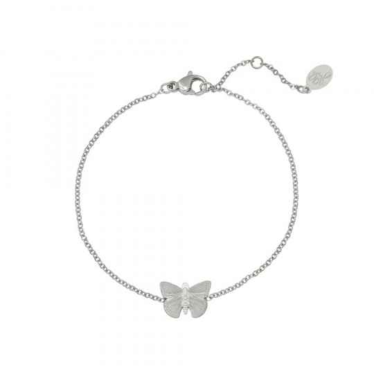 Armband Butterfly - zilver