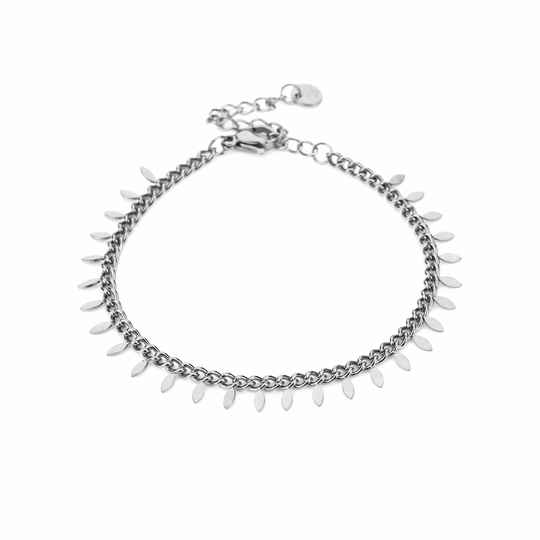 Armband Feather - zilver